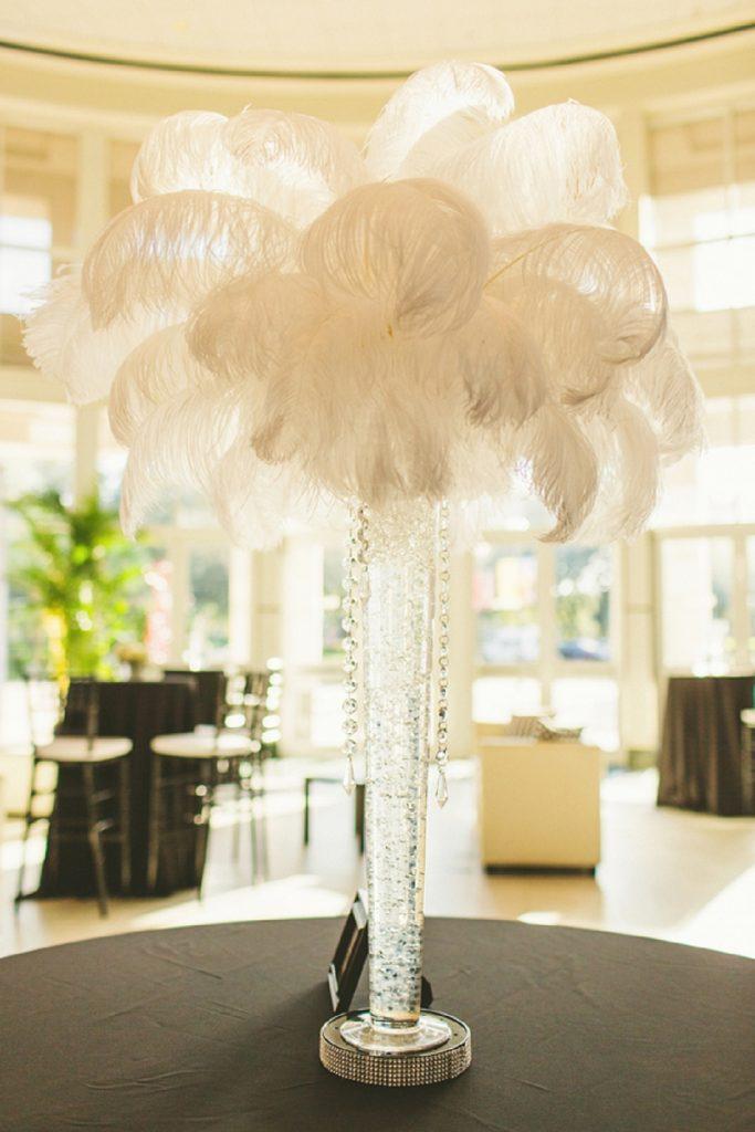 Feather Tree Centrepieces Balloon Blast