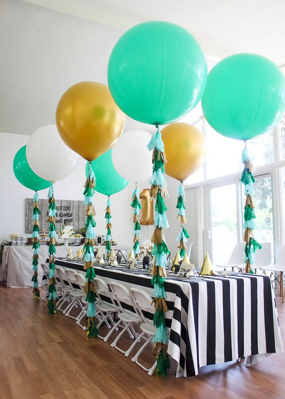 Geronimo Balloons Baby Shower Decorations