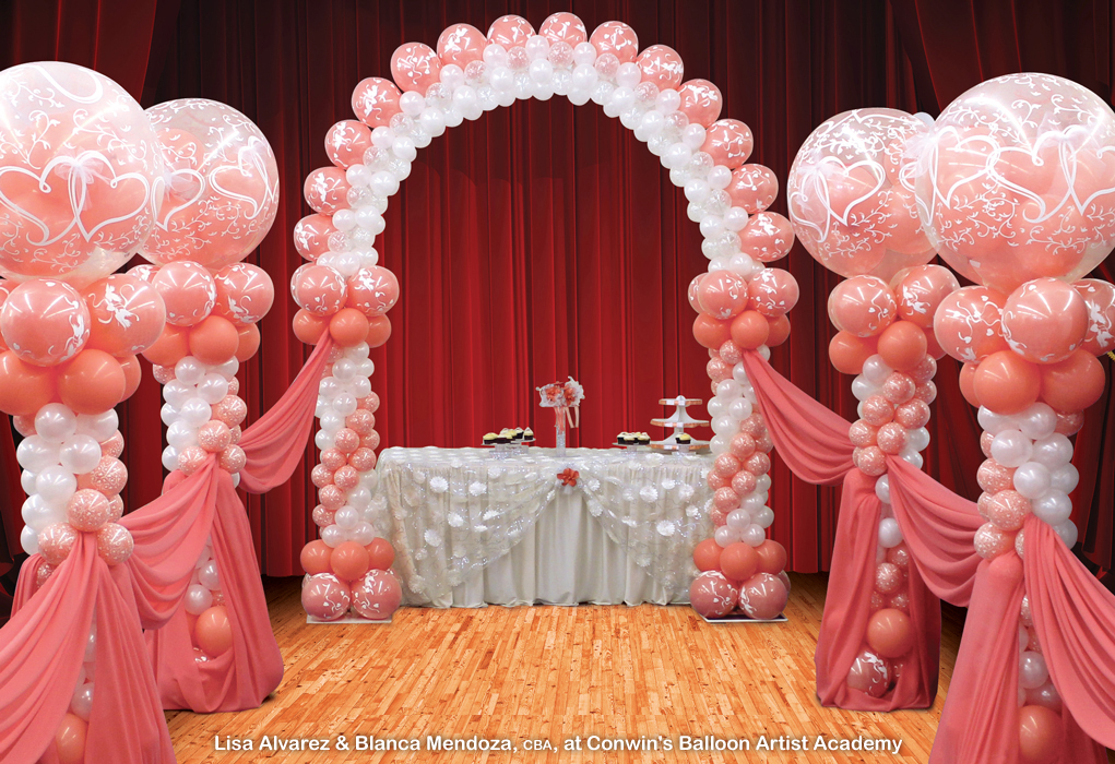 Weddings balloon blast for Balloon decoration for wedding